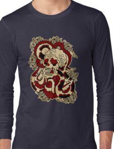Skull & Snake Long Sleeve T-Shirt