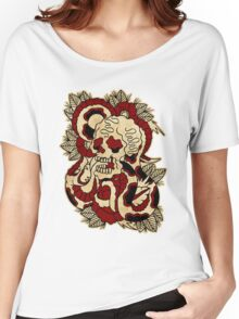 Skull & Snake Women's Relaxed Fit T-Shirt