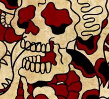 Skull & Snake Sticker