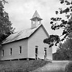 Methodist Church of Cades Cove by Lisa G. Putman