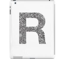 R iPad Case/Skin