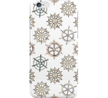 Ships Wheel Nautical Design iPhone Case/Skin