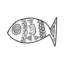 Illustrated Fish by QuinFeather