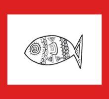 Illustrated Fish Kids Tee