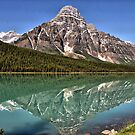 Mt. Chefren & Waterfowl Lake by Vickie Emms