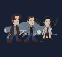 Sam, Dean, Castiel Kids Clothes