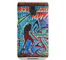 Take the money and run by Banksy and friends- Bristol. Samsung Galaxy Case/Skin