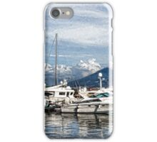 Vesuvius and Naples Harbor - Mediterranean Impressions iPhone Case/Skin