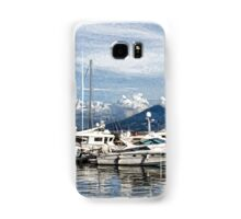 Vesuvius and Naples Harbor - Mediterranean Impressions Samsung Galaxy Case/Skin