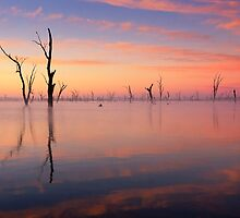 Lake Mulwala impression 1 by Hans Kawitzki