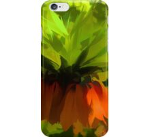 Showy Orange Crown Imperial Flowers - Impressions Of Spring iPhone Case/Skin