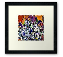 ( CRYSTALLIZE ) ERIC  WHITEMAN ART  Framed Print