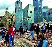 at the Fed Square by Yousif  H. Al-Alousi