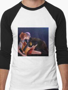 YoSeta Men's Baseball ¾ T-Shirt