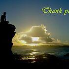 Thank you card by flexigav