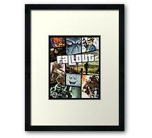 Fallout (GTA Style) Framed Print