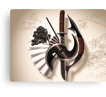 Martial Arts Weapon Series Canvas Print