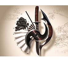 Martial Arts Weapon Series Photographic Print