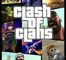 Clash of Clans (GTA Style) by riccardo08