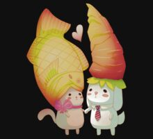 Taiyaki and carrots Kids Clothes
