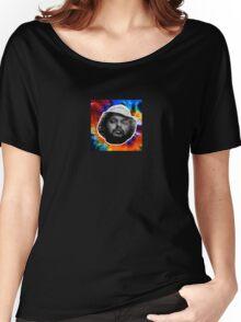 School Boy Q Tie Dye Box Design Women's Relaxed Fit T-Shirt
