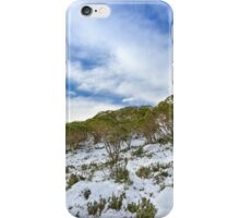 Snow to sky iPhone Case/Skin