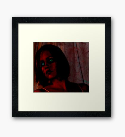 My Zombie's Hanging Out Framed Print