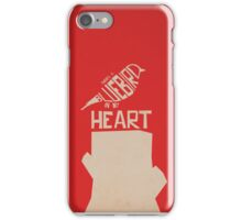 There's A Bluebird In My Heart iPhone Case/Skin
