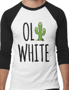 Oli White - Cactus! Men's Baseball ¾ T-Shirt