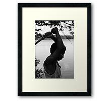 Swordsman Framed Print