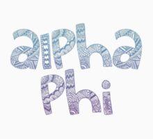 Alpha Phi Ombre by devon rushton
