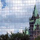 Ottawa Reflection by Bevellee