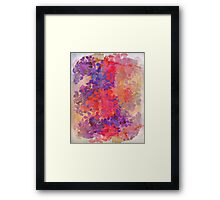 floral composition Framed Print