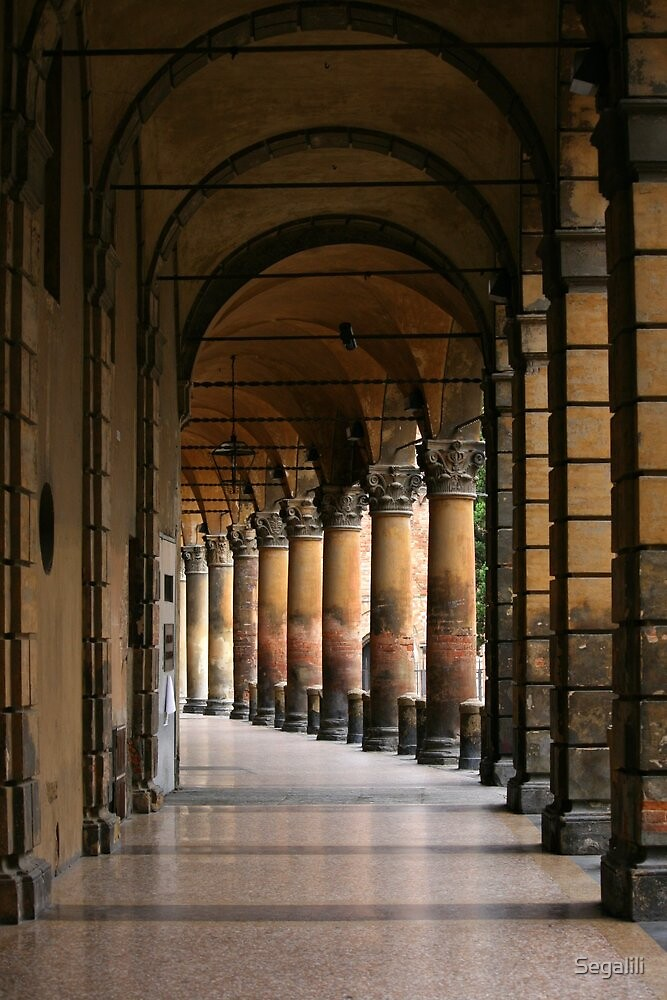 Arcades of Bologna (2) by Segalili