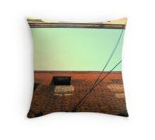 Fan Tan Alley - Bruised Buildings Throw Pillow