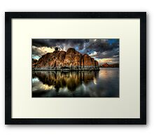 Darkness on the Edge of....wait ...Bruce stole my title! Framed Print