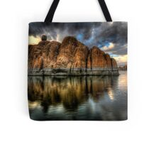 Darkness on the Edge of....wait ...Bruce stole my title! Tote Bag