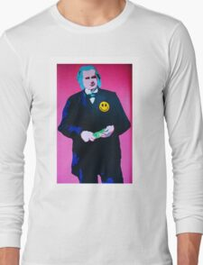 President of Happiness!! Long Sleeve T-Shirt