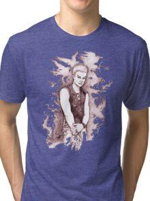 Punk Spike Tri-blend T-Shirt