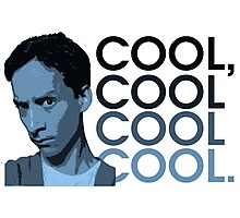 Abed - Cool, cool cool cool. Photographic Print