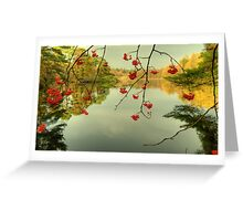 The Red Berries of Autumn Greeting Card