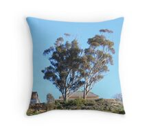 When skies are blue in Mannum they are really BLUE!! Throw Pillow