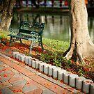 Lumpini park, Bangkok by Laurent Hunziker