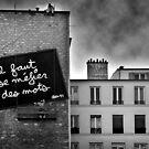 Distrust the words... by Laurent Hunziker