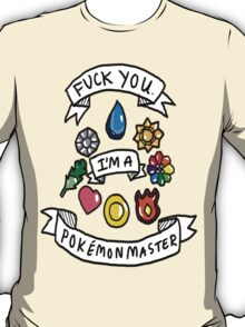 Pokemon Master! T-Shirt