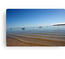 Fishermans Bay. South Australia Canvas Print