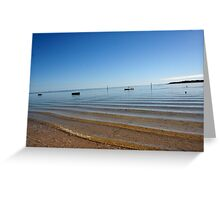 Fishermans Bay. South Australia Greeting Card