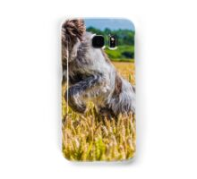 Leaping Italian Spinone Samsung Galaxy Case/Skin