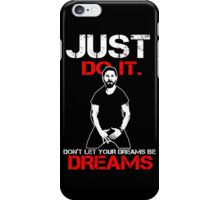 Just Do It Shia Labeouf - Insaiyan Style Black iPhone Case/Skin