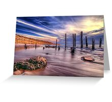 Sensational Seaside Scene Greeting Card